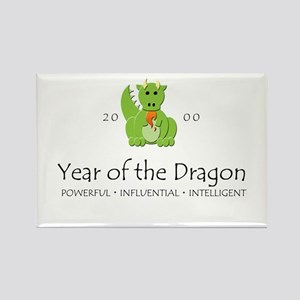 """""""Year of the Dragon"""" [2000] Rectangle Magnet"""